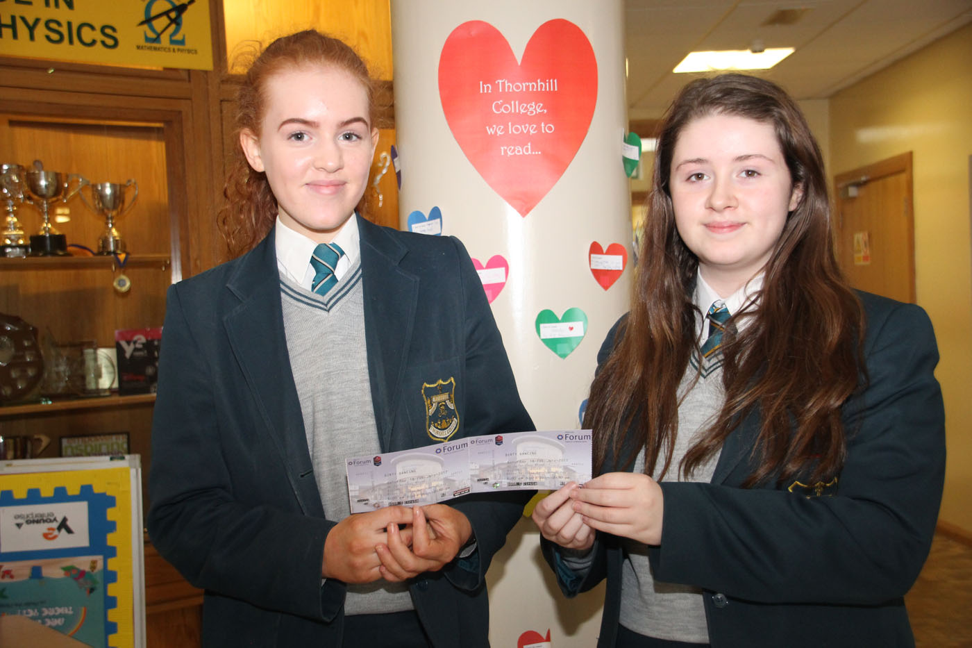 Katie May Duffin (9B) wins tickets for 'Dirty Dancing'