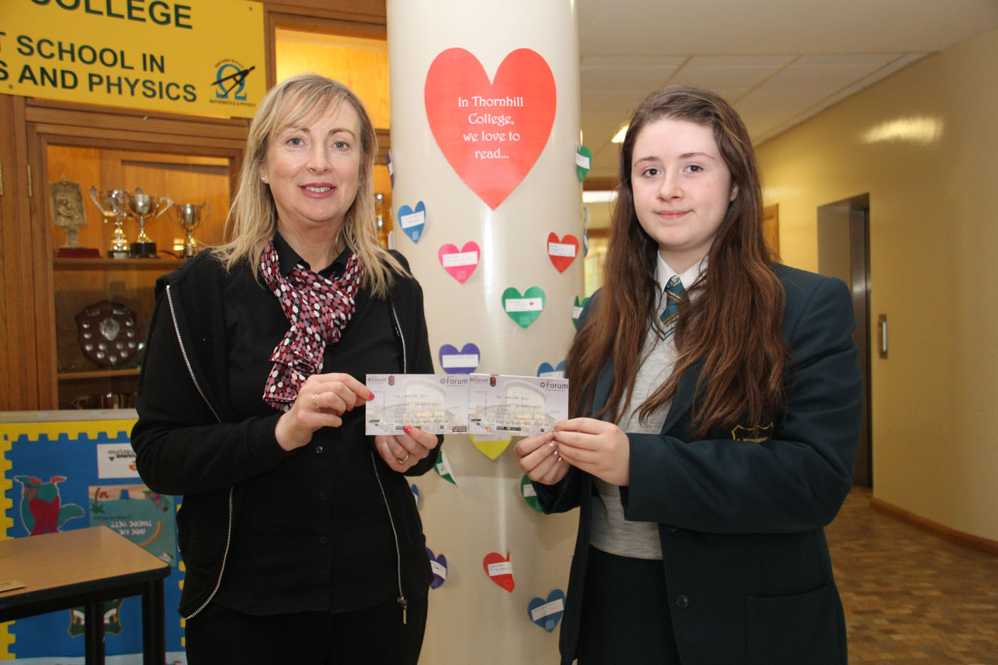 Mrs Kathy Doherty wins tickets for 'The Lonesome West'